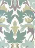 Reflections Glow Porcelain Wallpaper 1907/047 By Prestigious Textiles